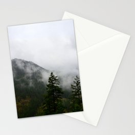 Low Clouds and High Mountains Stationery Cards