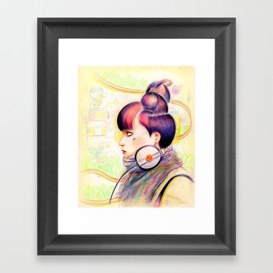 Sweet Dj Framed Art Print