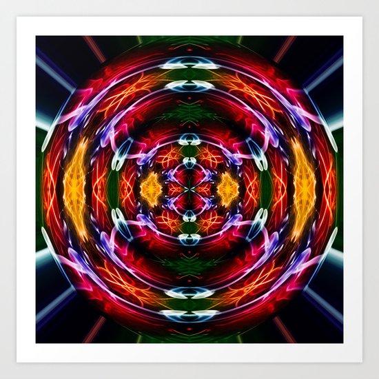 DNA Crystal Ball Art Print