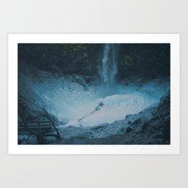 Ultramarine Art Print