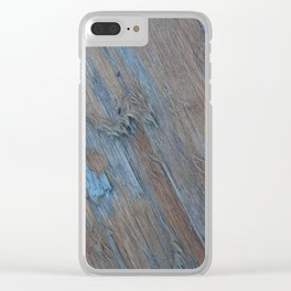 Shredded Clear iPhone Case