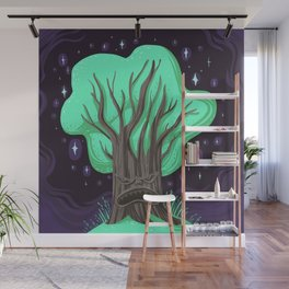 Monster Tree Exploding Sparkle Muffin Wall Mural