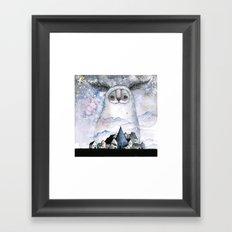 Night creature Framed Art Print