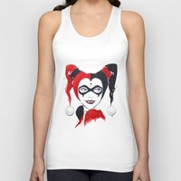 harley quinn Tank Tops featuring Harley Quinn by Berry Luna