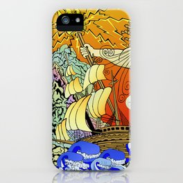 Tales of the Trident:Poseidon iPhone Case