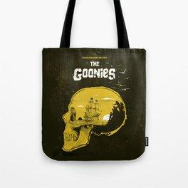 The Goonies art movie inspired Tote Bag