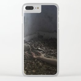 Did you see? Clear iPhone Case