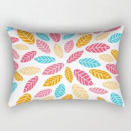 Fresh leaf pattern Rectangular Pillow