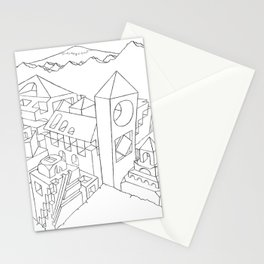 Escherian Mind  Stationery Cards