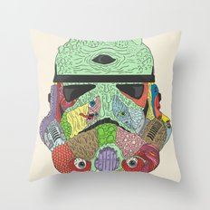 Gore Trooper  Throw Pillow