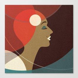 Venn Deco (Part V) Canvas Print