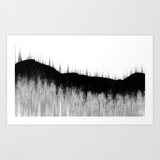 after the instant Art Print
