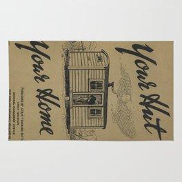 Vintage poster - New Zealand Railways Rug