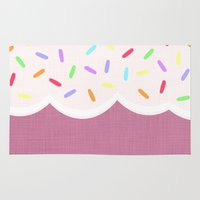 sprinkles Area & Throw Rugs featuring Sprinkles by Glanoramay