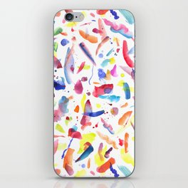 Abstract Painterly Brushstrokes iPhone Skin