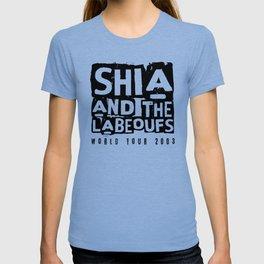 Shia and the LaBeoufs World Tour 2003 (black) T-shirt