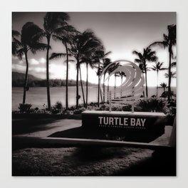 Turtle Bay Resort Hawaii Canvas Print