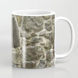 Weathered Stone Wall rustic decor Coffee Mug