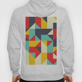 Abstract Geometric Composition 003 Hoody