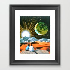 Another Earth Framed Art Print