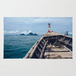 Pacific Boat Adventure Rug