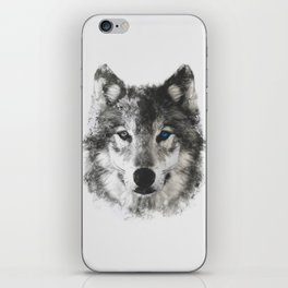 Wolf Face iPhone Skin