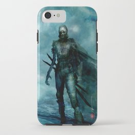 Silent Leaves Eight iPhone Case