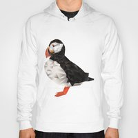 puffin Hoodies featuring Puffin by LuftStudio