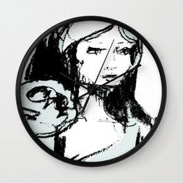 Portrait 101 Wall Clock