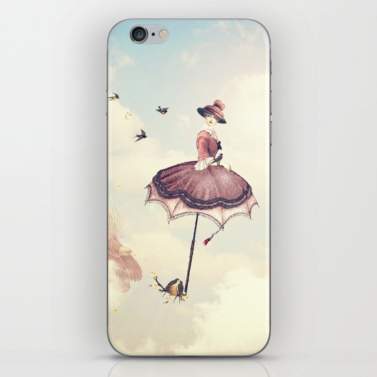 Spring Lady iPhone & iPod Skin