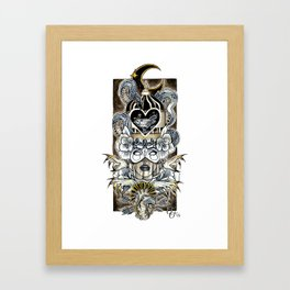 Queen Of Wishful Thinking Framed Art Print