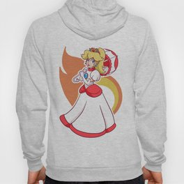 Fire Flower Peach! Hoody