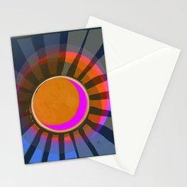 Full Moon Rays Stationery Cards