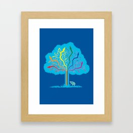 Arrow Tree Framed Art Print