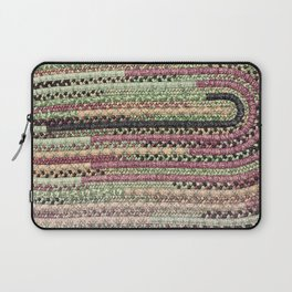 Vintage Braid #Vintage #textile Laptop Sleeve