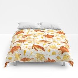 Hawksbill Sea Turtles Comforters