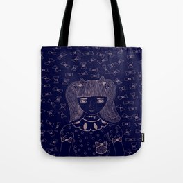 I am 'BOW'led over by you Tote Bag