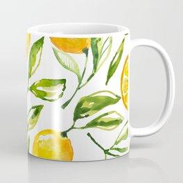 lemon watercolor Coffee Mug