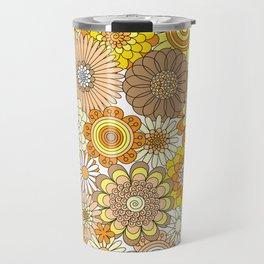 Thrifted Linen Goldenrod Travel Mug