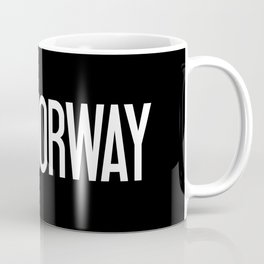Norway: Norwegian Flag & Norway Coffee Mug