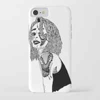 doll iPhone & iPod Cases featuring Doll by Kat Leimbach