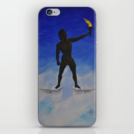 """""""I Will See You in Elysium or in the Shadow of Colossus"""" iPhone Skin"""