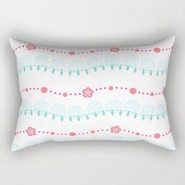 Glittering Lights Rectangular Pillow