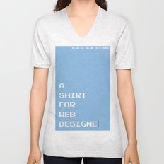 BDFD - Web Designer Unisex V-Neck