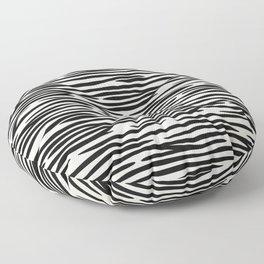 Zebra Stripes Floor Pillow