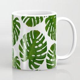 Monstera Leaf III Coffee Mug