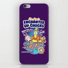 Enchanted Up Chucks iPhone & iPod Skin