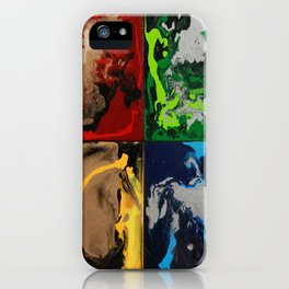 Hogwarts House Colors iPhone Case