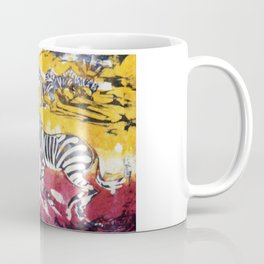 ZEBRAS        by Kay Lipton Coffee Mug