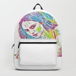 Alicia Vikander (Creative Illustration Art) Backpack